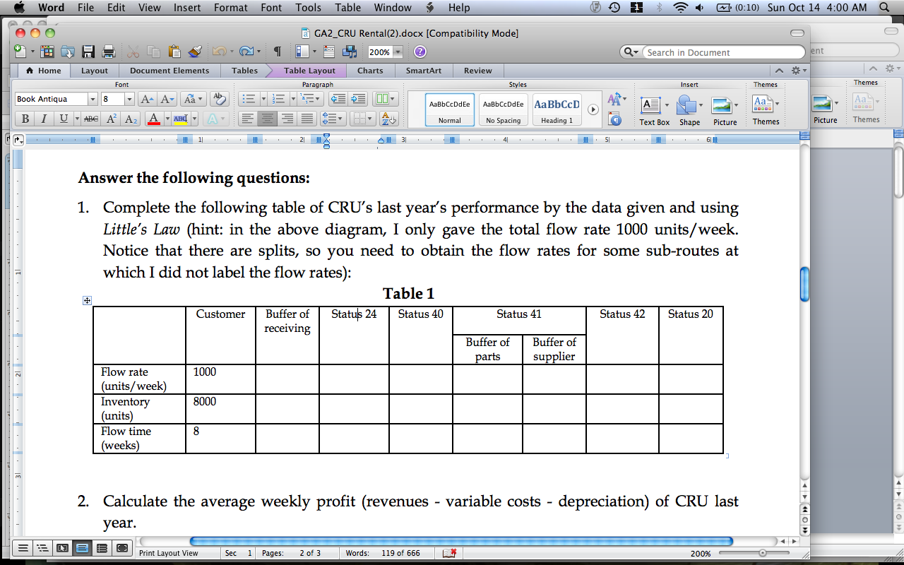 how to find average variable cost