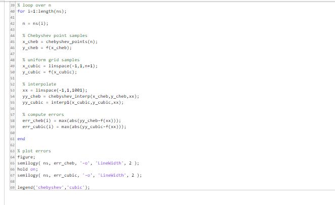 Matlab Coding   Barycentric Interpolation  There I      Chegg com
