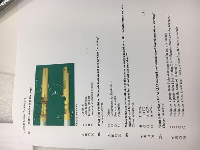 620C CIS Module 2-Version 2 1 Identify Location 10    | Chegg com