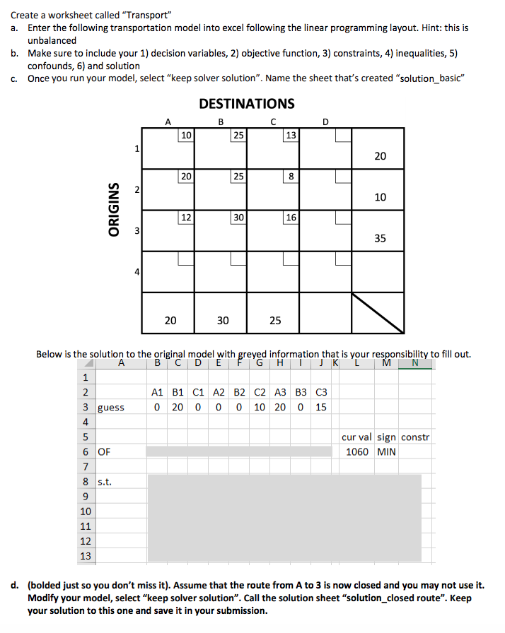 Solved: Create A Worksheet Called
