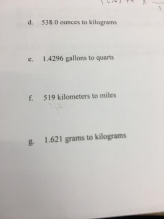 1 4296 Gallons To Quarts F 519 Kilometers