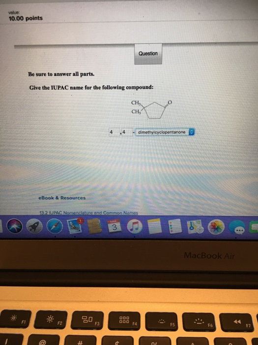 Chemistry archive march 03 2018 chegg 1000 points be sure to answer all parts give the iupac name for the following fandeluxe Image collections