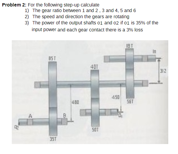 Solved: Problem 2: For The Following Step-up Calculate 1