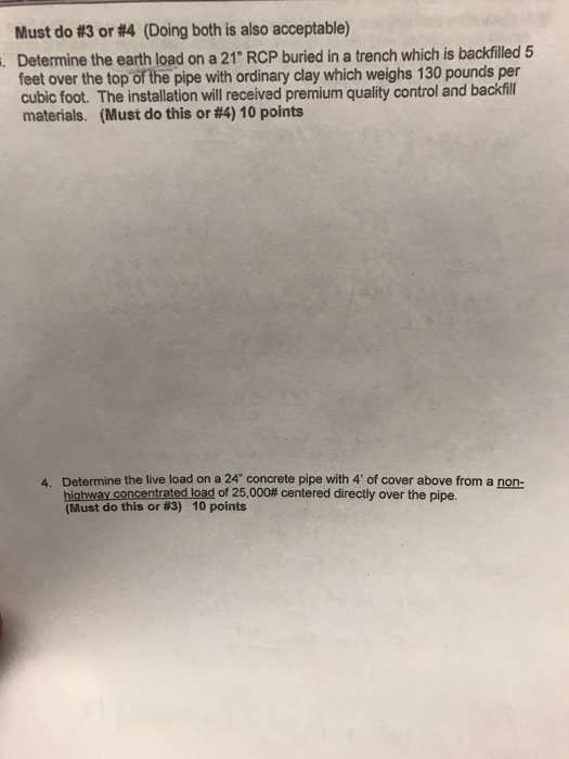 Solved: Determine The Earth Load On A 21