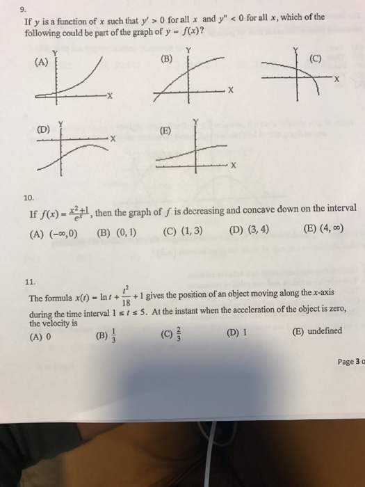 Solved If Y Is A Function Of X Such That Y0 For Al And Y Chegg Com Computes the bessel function of the first or second kind, of orders 0, 1, or n. if y is a function of x such that y0