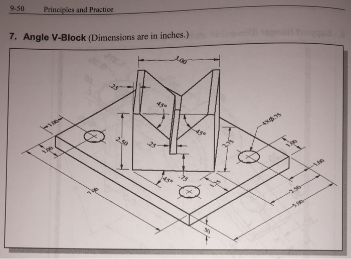 Solved Help On Engineering Graphic Design Autocad The