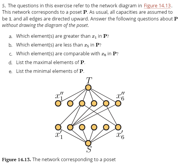 5 The Questions In This Exercise Refer To The Net Chegg