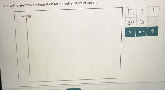 Solved Draw The Electron Configuration For A Neutral Atom Chegg Com