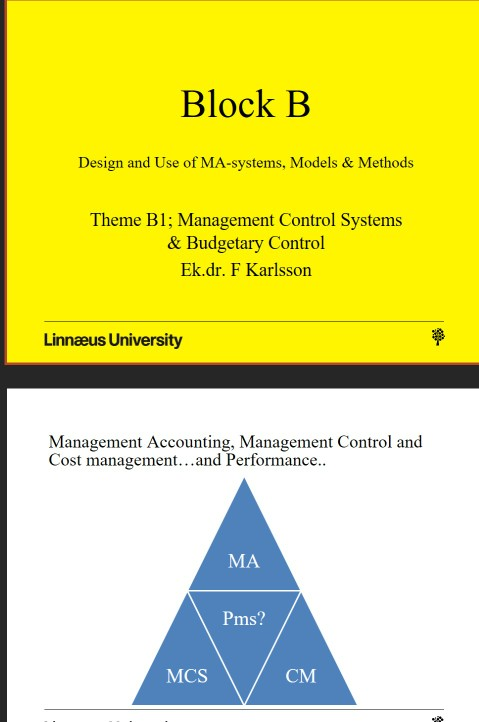 Solved Block B Design And Use Of Ma Systems Models Met Chegg Com