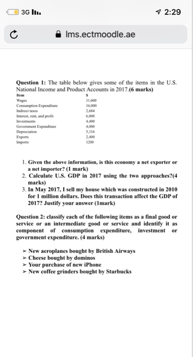 Economics Recent Questions Cheggcom