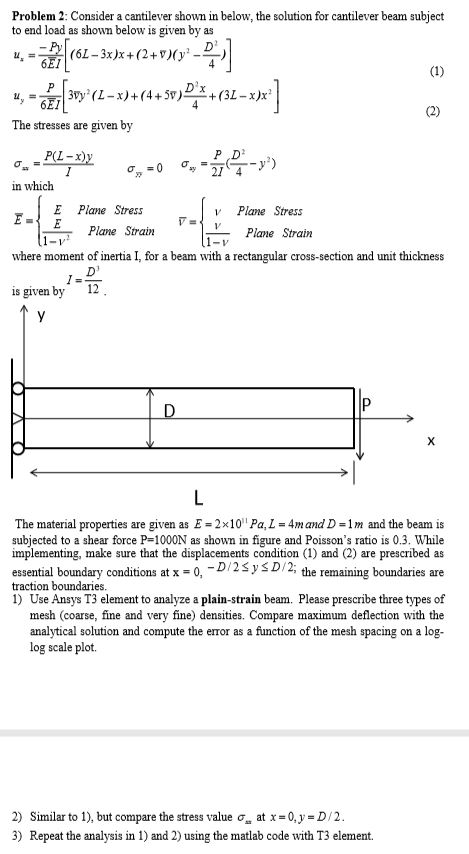 Matlab Code For Beam Analysis