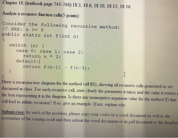 Solved Chapter 18 Textbook Page 743 744 18 3 18 6 18