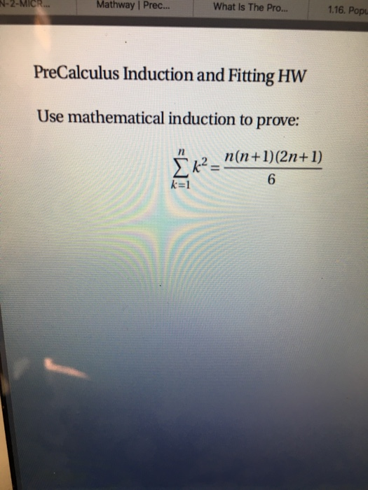 Solved: Mathway Prec    What Is The Pro    1 16  Popu N-2