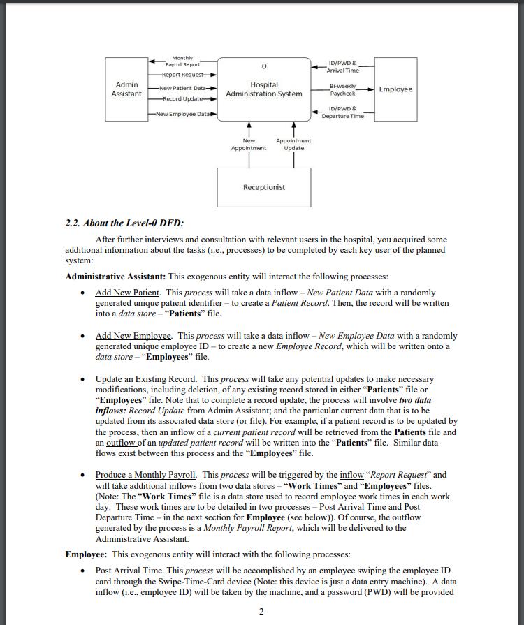 Solved Cis3600 Systems Analysis And Design Assignment 3 Chegg Com
