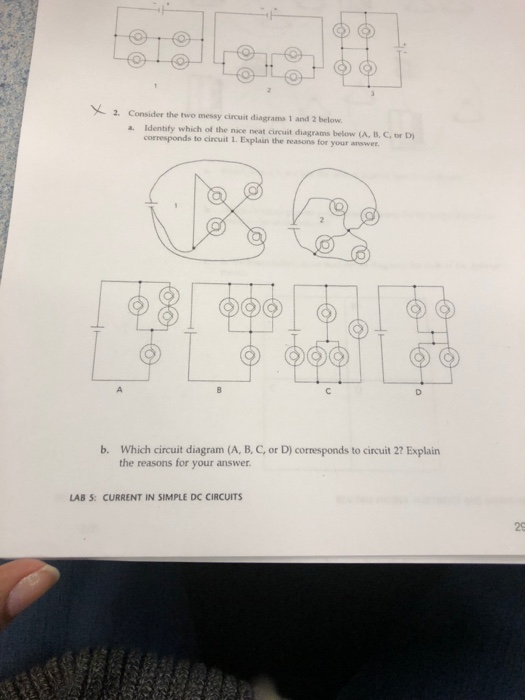 consider the two messy anuit diagrams 1 and 2 below  a  identify