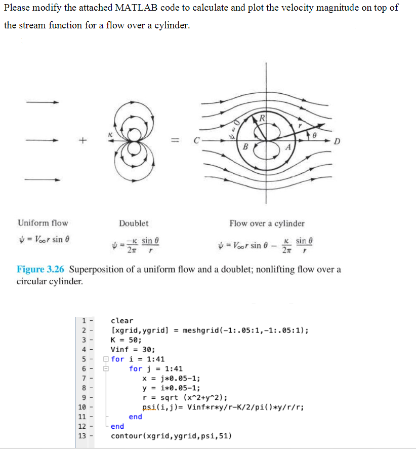 Please Modify The Attached MATLAB Code To Calculat