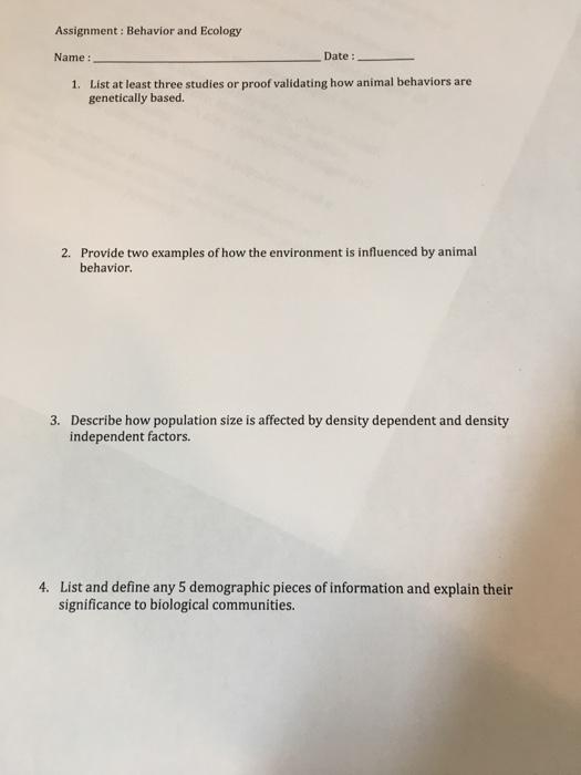 solved list at least three studies or proof validating ho