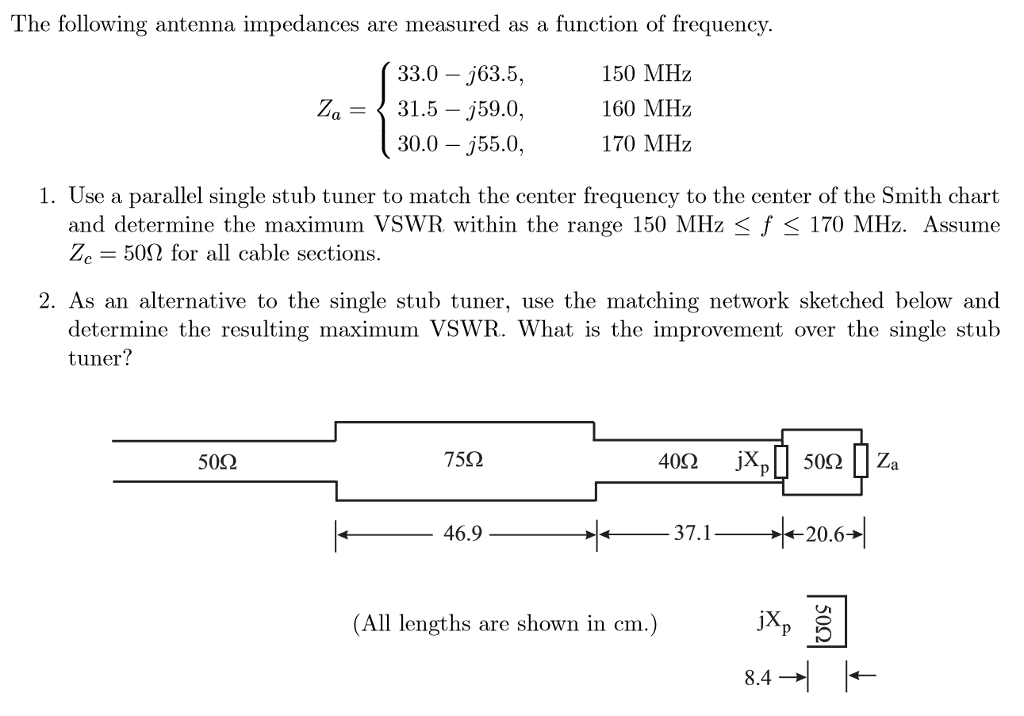 Note: Course Name: Antenna Theory  Please Help Me