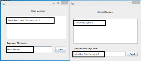 Please Create A Chat Window Application Using Java