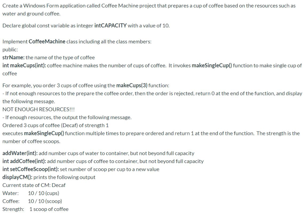 Please Help This Visual Basic Program Using With C Chegg Com