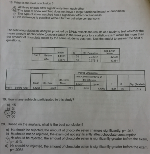 Solved: Answer The Following Questions For The Following S