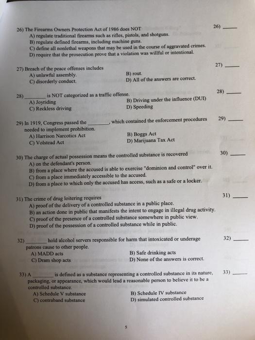 Solved: CRIMINAL LAW Criminal Law Multiple Choice Please H