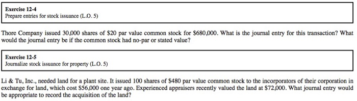 Journal entry to record exercise of stock options