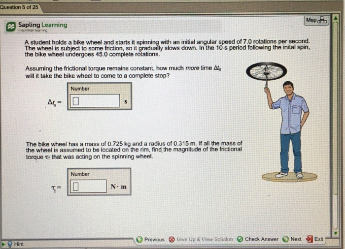 Solved: Question 5 Of 25 Map Sapling Learning A Student Ho
