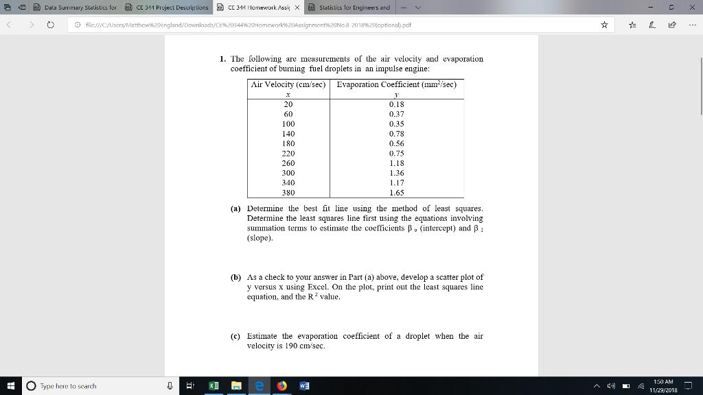 Statistics Project Pdf
