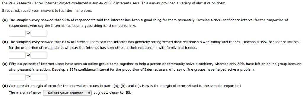 statistics answers online