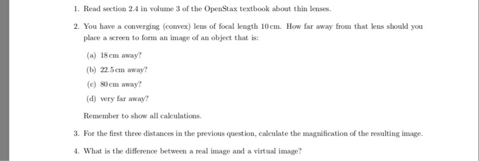 Solved: The Pre-lab Assignment Refers To Volume 3 Of The O