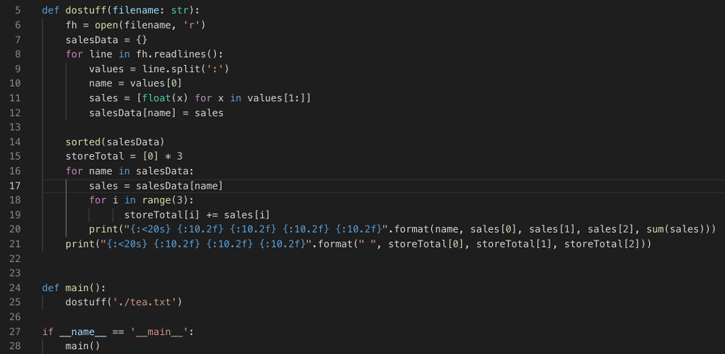 Solved: Python, I Have This Code, How Do I Put The Output