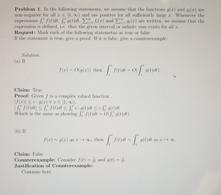 Solved: Analytic Number Theory(b): Looking For Help In Dem