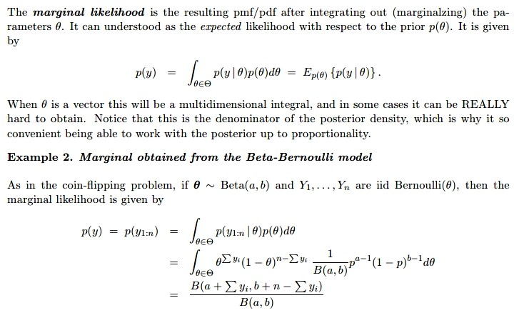 Solved: (Bayesian Statistics) - Textbook: A First Course I