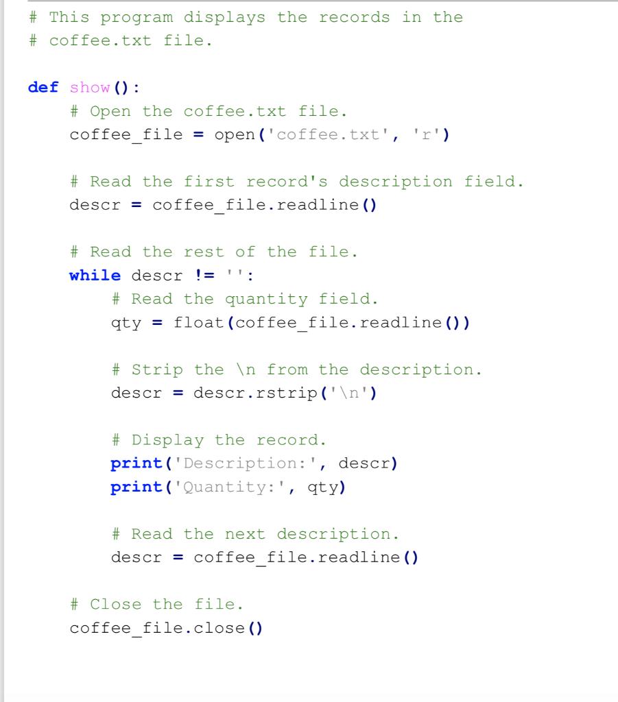 Python, I Have No Clue What To Do For Modules  I     | Chegg com