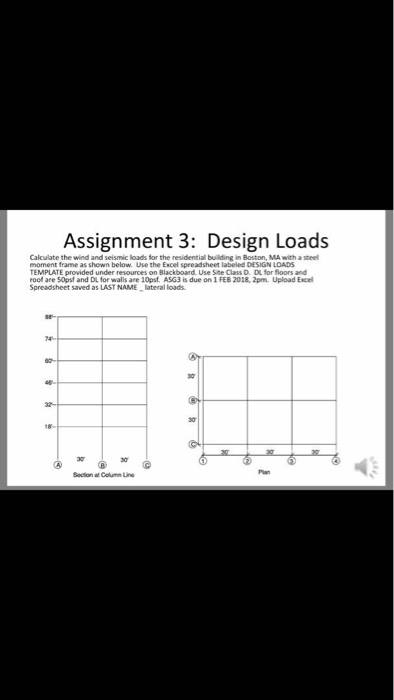 Assignment 3: Design Loads Calculate The Wind And