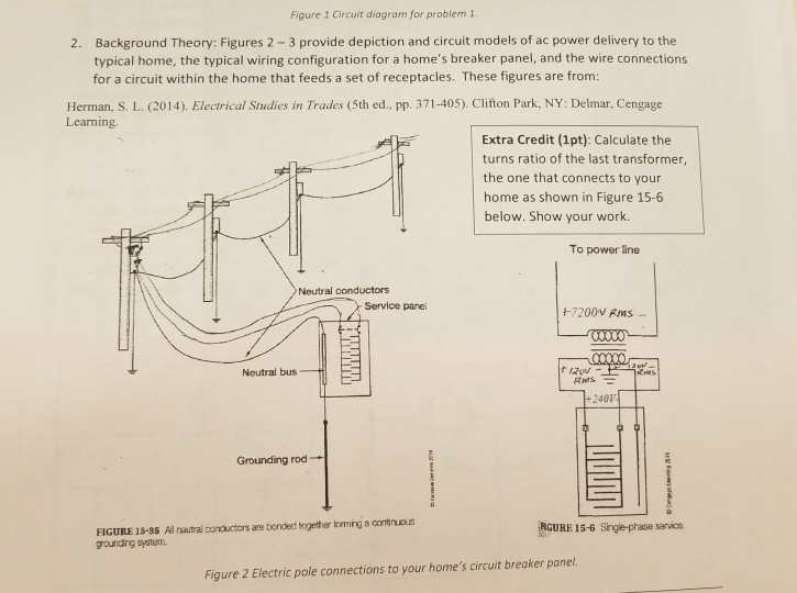 Fabulous Solved Figure 1 Circuit Diagram For Problem I Background Wiring 101 Cranwise Assnl