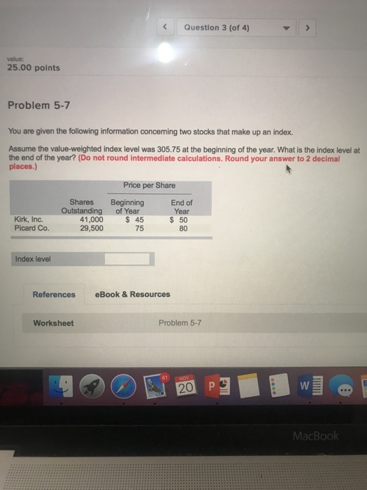 Finance archive november 20 2017 chegg question 3 of 4 value 2500 points problem 5 7 you are fandeluxe Choice Image