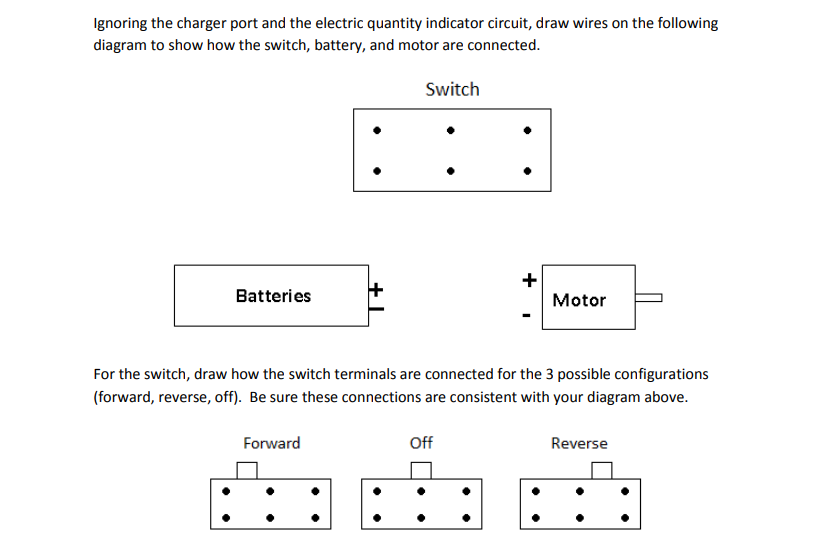 Solved: Ignoring The Charger Port And The Electric Quan ... on wire rope, barbed wire, draw bench, blanking and piercing, hemming and seaming, superplastic forming, die cutting, tube drawing, draw plate, sheet metal,