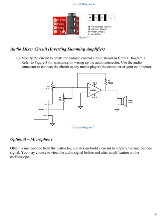 Operational Amplifiers Background A  Construct An