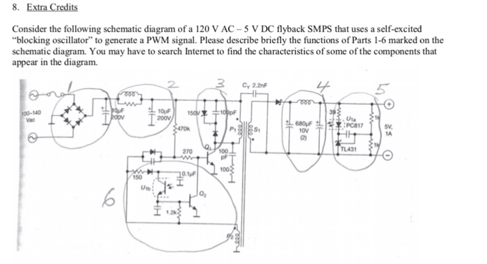 extra credits consider the following schematic diagram of a 120 v ac-5