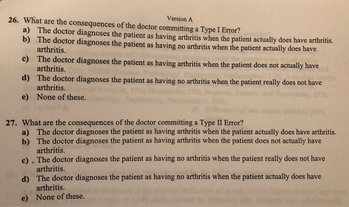 Solved: Use The Following To Answer Questions 26-27: A Med