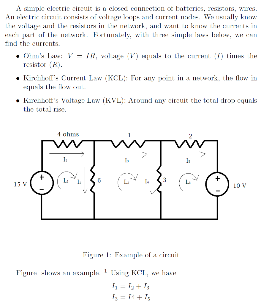 Simple Closed Loop Circuit Diagram Resistor Schematic Diagrams Electrical Wiring A Electric Is Connection O Chegg Com Lab 1444