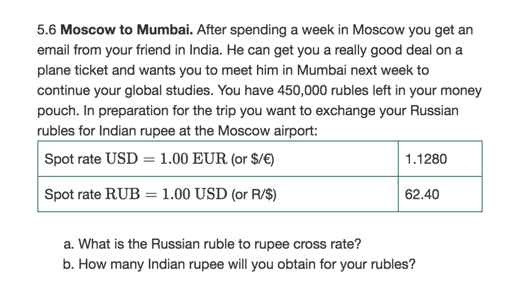 5 6 Moscow To Mumbai After Spending A Week In You Get An Email From