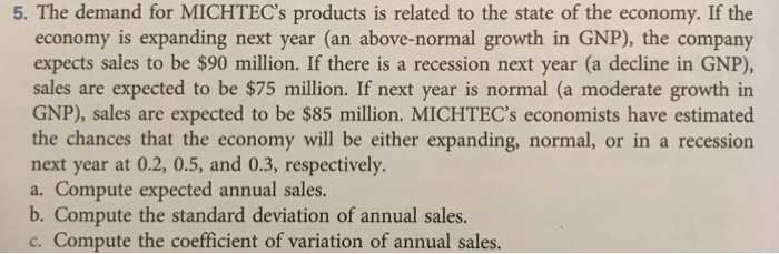 sharpe knife company expects sales next year to be 1 650 000 if the economy is strong 875 000 if the Austin electronics expects sales next year to be $900,000 if the economy is strong, $650,000 if the economy is steady, and $375,000 if the economy is the landis corporation had 2008 sales of $100 million the balance sheet items that vary directly with sales and the profit margin are as follows.