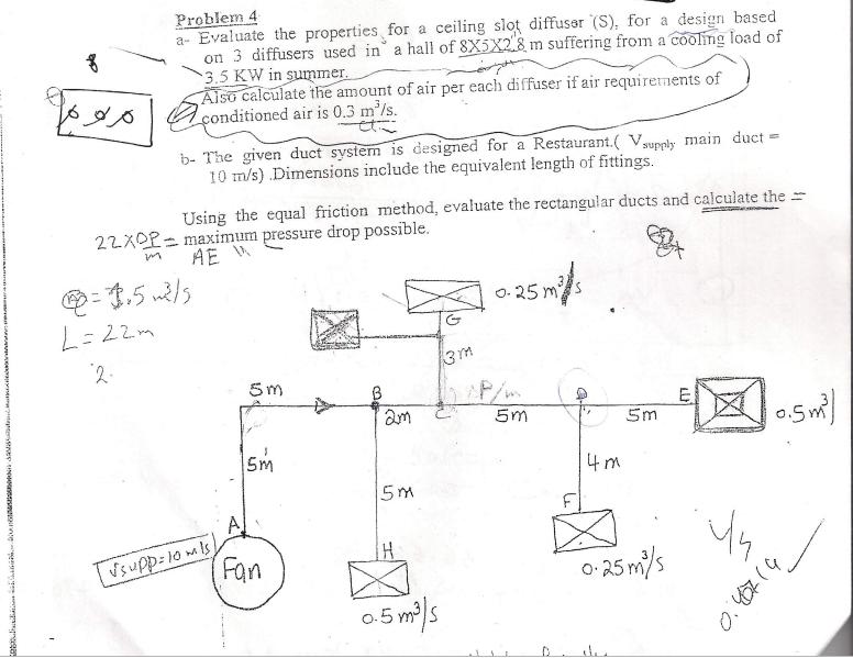 Problem 4 A Evaluate The Properties For A Ceiling       Chegg com