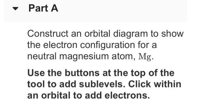 Electron Configuration Orbital Diagram For Mg Car Wiring Diagrams