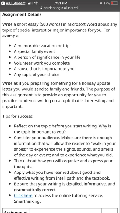 significance of family essay