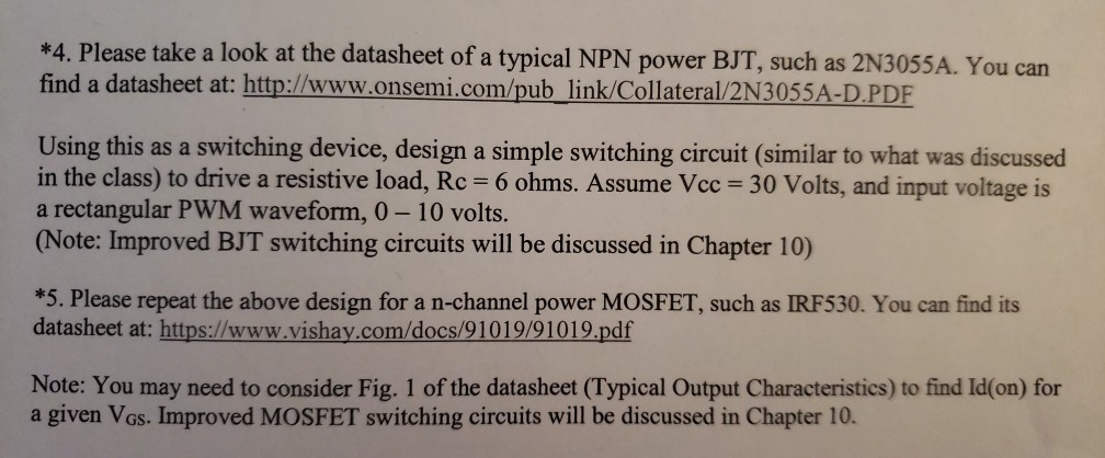 4  Please Take A Look At The Datasheet Of A Typic    | Chegg com