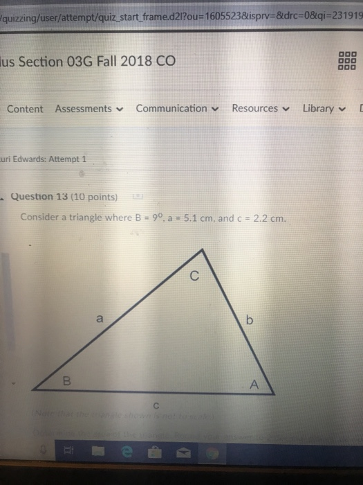 Quizzing/user/attempt/quiz Start Frame d2I?ou-1605      Chegg com